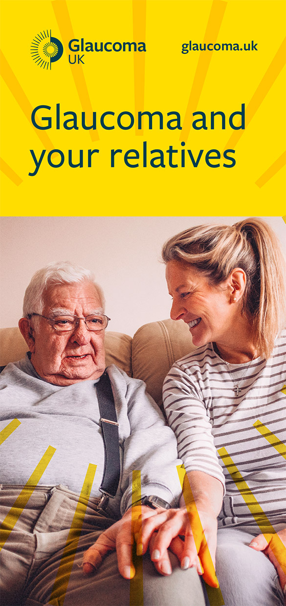 Glaucoma and Your Relatives Leaflet Cover