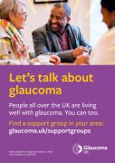 glaucoma support group poster