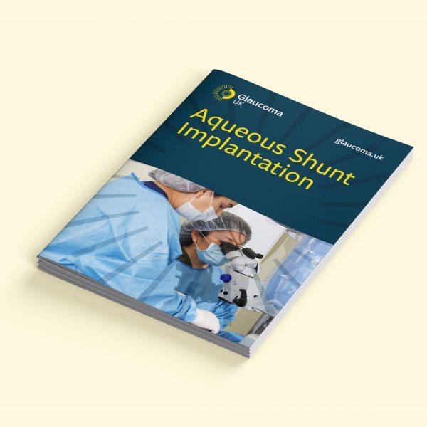Aqueous shunt implantation booklet