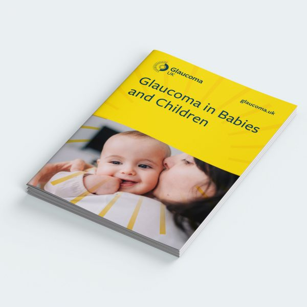 glaucoma in babies and children booklet