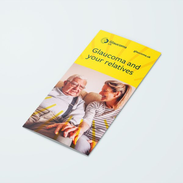 glaucoma and your relatives leaflet
