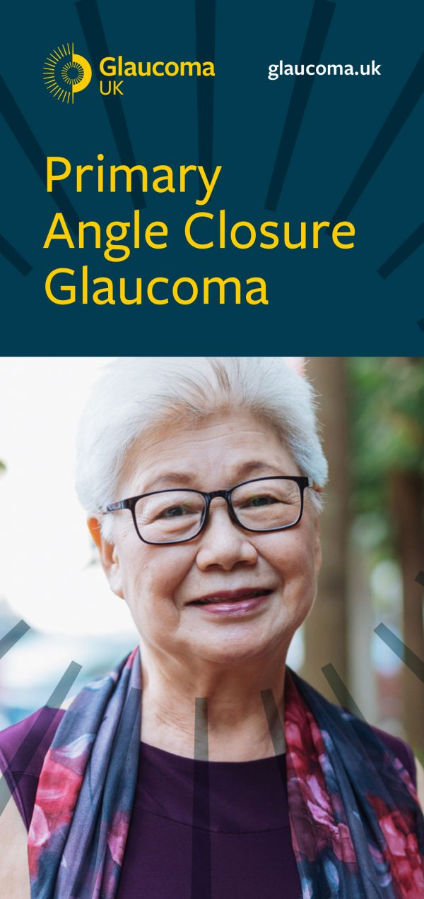Primary Angle Closure Glaucoma leaflet cover