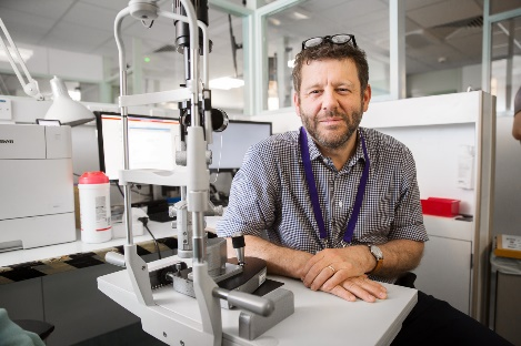 Photo of Prof Gus Gazzard