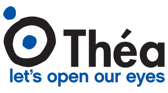 Thea - lets open our eyes logo