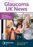 Glaucoma UK News Summer 2020 Magazine Cover