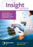 Glaucoma UK News Autumn 2020 Magazine Cover
