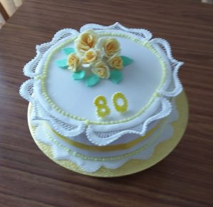 One of Robina's cakes